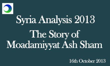 Moadamiyyat Ash Sham — Does Anyone Care?