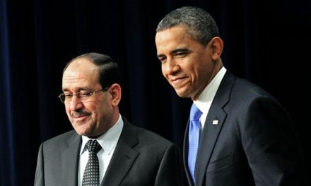 "MENA Spotlight: Iraq — Obama Backs PM al-Maliki's ""Fight v. Al Qa'eda"""