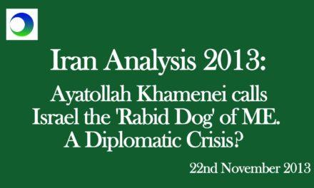 "Supreme Leader Called Israel A ""Rabid Dog"" — Does It Matter?"