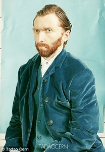van gogh ginger beard