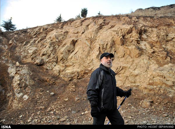 Iran Photo Spotlight: PR of the Day — Rouhani Takes A Hike
