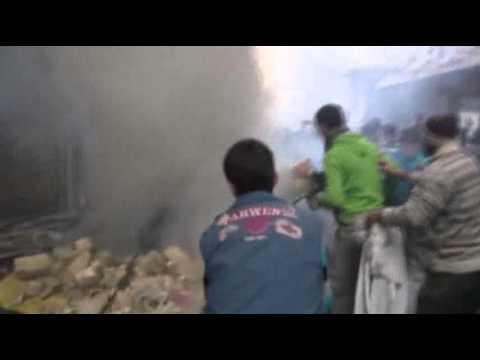 Syria Today, Dec 17: Mass Death in Aleppo; Insurgent Advance Near Damascus