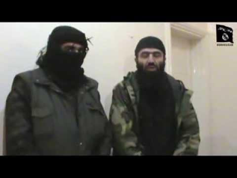 Syria: Video — Chechen Amir Seyfullakh Shishani & Jaish Khilafatul Islamia Join Jabhat al-Nusra