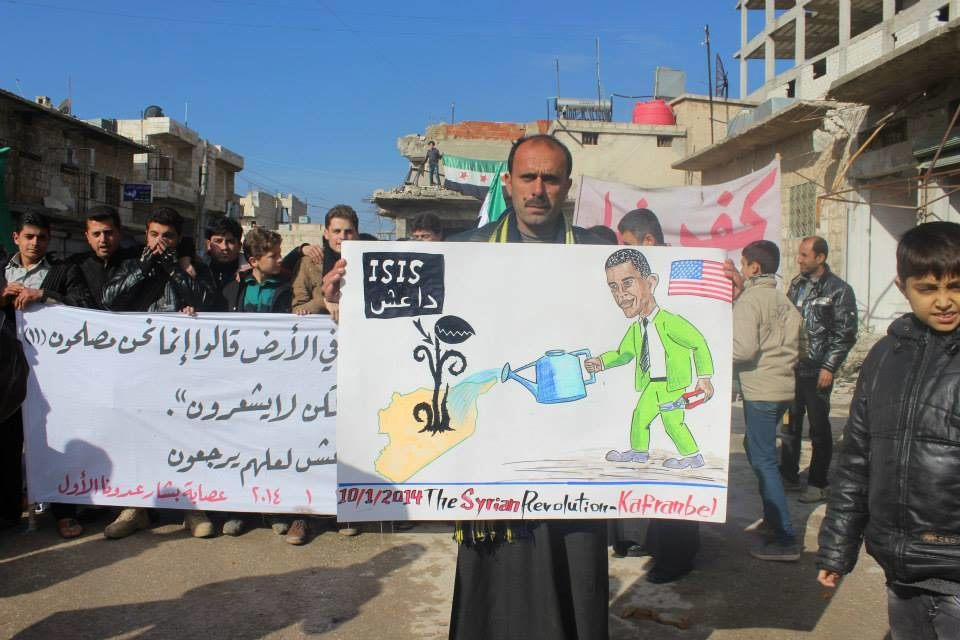 Syria: Countrywide Protests Against Assad, Islamic State of Iraq & ash-Sham
