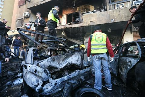 Lebanon: At Least 4 Killed in Latest Car Bomb in South Beirut