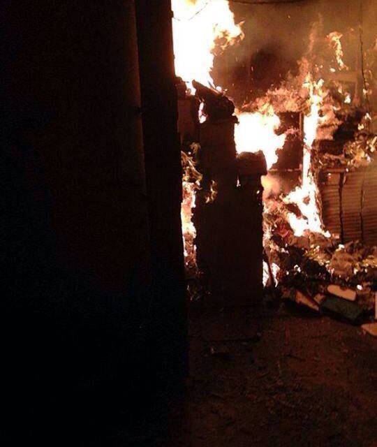 Lebanon: The Burning of the Library in Tripoli