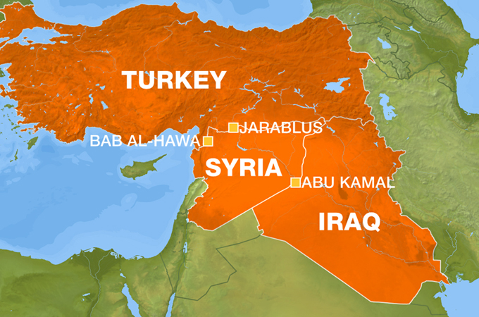 Syria: Turkey Hits Islamic State of Iraq Convoy Near Border