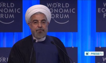 Iran Video: Rouhani Speech at World Economic Forum in Davos