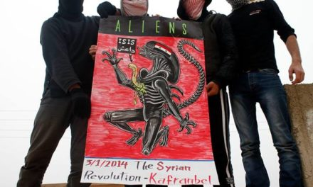 Syria: ISIS Are Alien Invaders, Say Kafranbel Activists