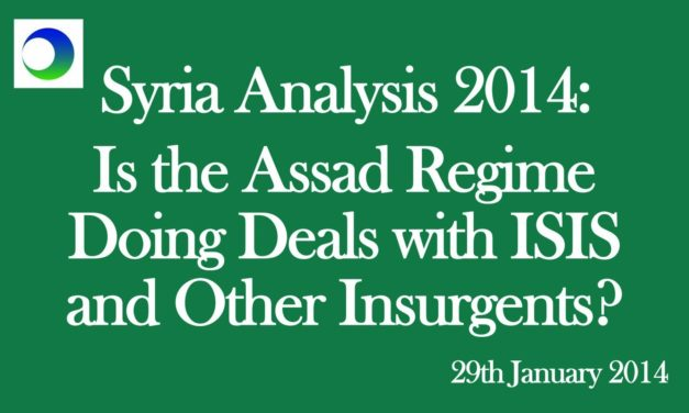 """Syria: """"Alliance"""" Between Assad and ISIS?"""