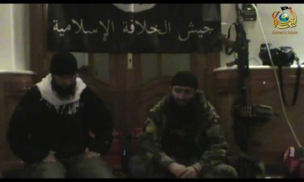 "Syria: Chechen Emir Seyfullakh Urges Turks, ""Don't Stay Silent Against Muslim Bloodshed"""