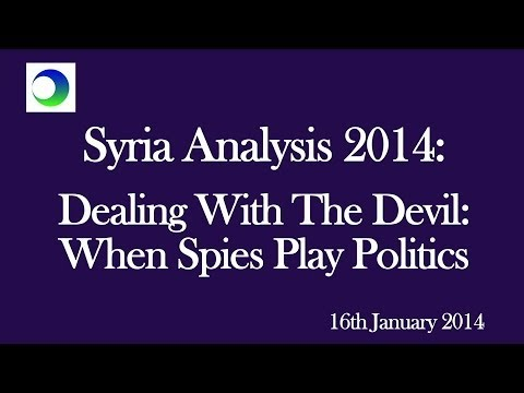 Syria: Dealing with the Devil – When Spies Play Politics
