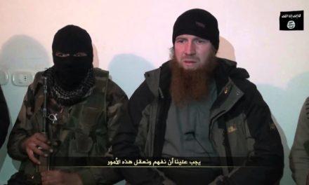 "Syria: Islamic Front Condemn Umar Shishani & ISIS ""Treachery"" Over Suicide Bombing in Ar-Raei on Turkish Border"