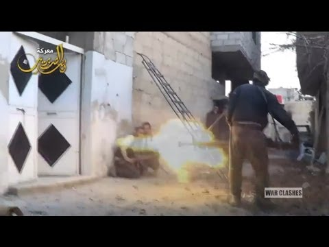 Syria: On-the-Ground Video from Fighting in Darayya, Near Damascus