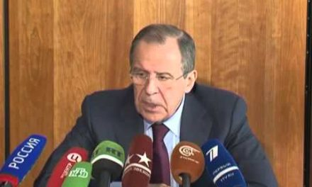 "Syria: Russian FM Lavrov – ""Opposition Could Provoke Violence To Prevent Humanitarian Aid In Homs"""