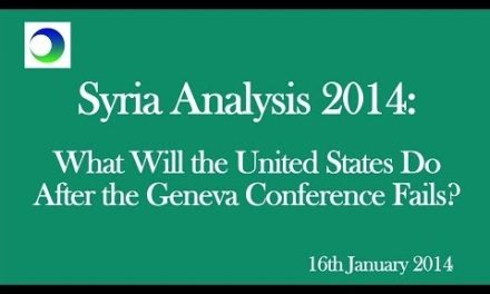 Syria: Why US Will Accept Assad After Geneva II Fails