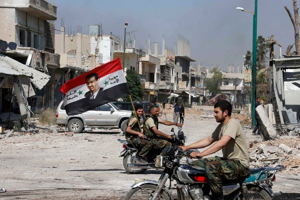 "Syria: ""Strong Rebel Forces Needed To Police Any Peace Deal"""