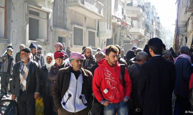 Syria Daily, Feb 12: Aid Effort in Homs Resumes as 336 Evacuees Interrogated