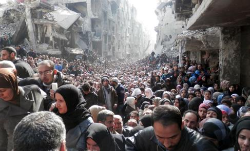 """Syria: UN """"Shocked by Condition of Civilians in Yarmouk"""""""
