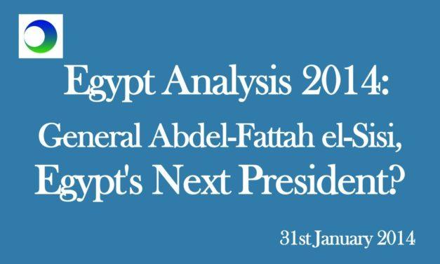 Egypt: Turning General Sisi Into President
