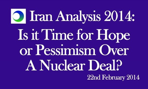 Iran: Hope or Pessimism Over Nuke Deal?