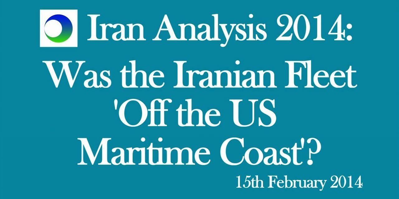 Iran: Are Tehran's Warships Near US Coast?