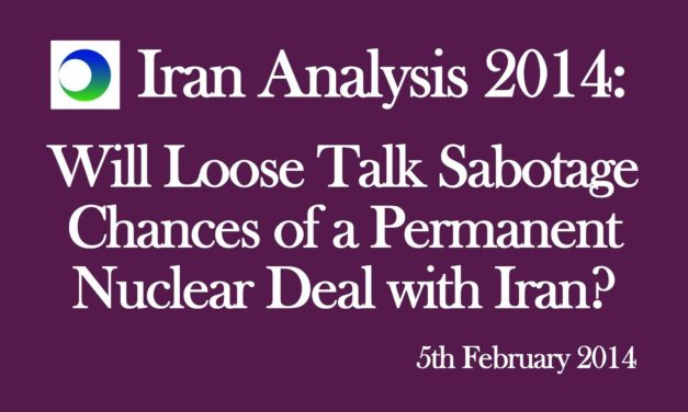 Iran: Will Loose Talk Sabotage Nuclear Deal?