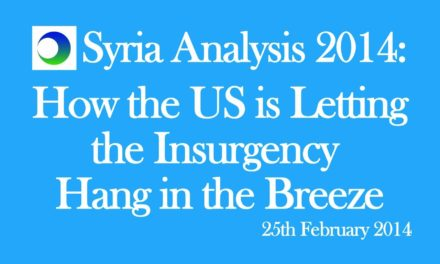 Syria: How US is Letting Insurgency Hang in the Breeze