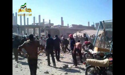 Syria: Media Activist, Civilians Killed As Regime Barrel Bombs Dar'aa Province
