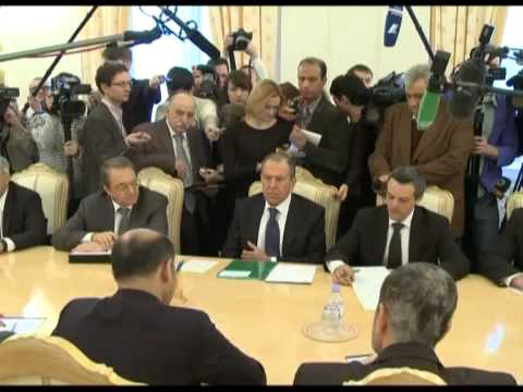 Syria / Russia: Lavrov Expresses Support For National Coalition Presence At 2nd Round of Geneva II