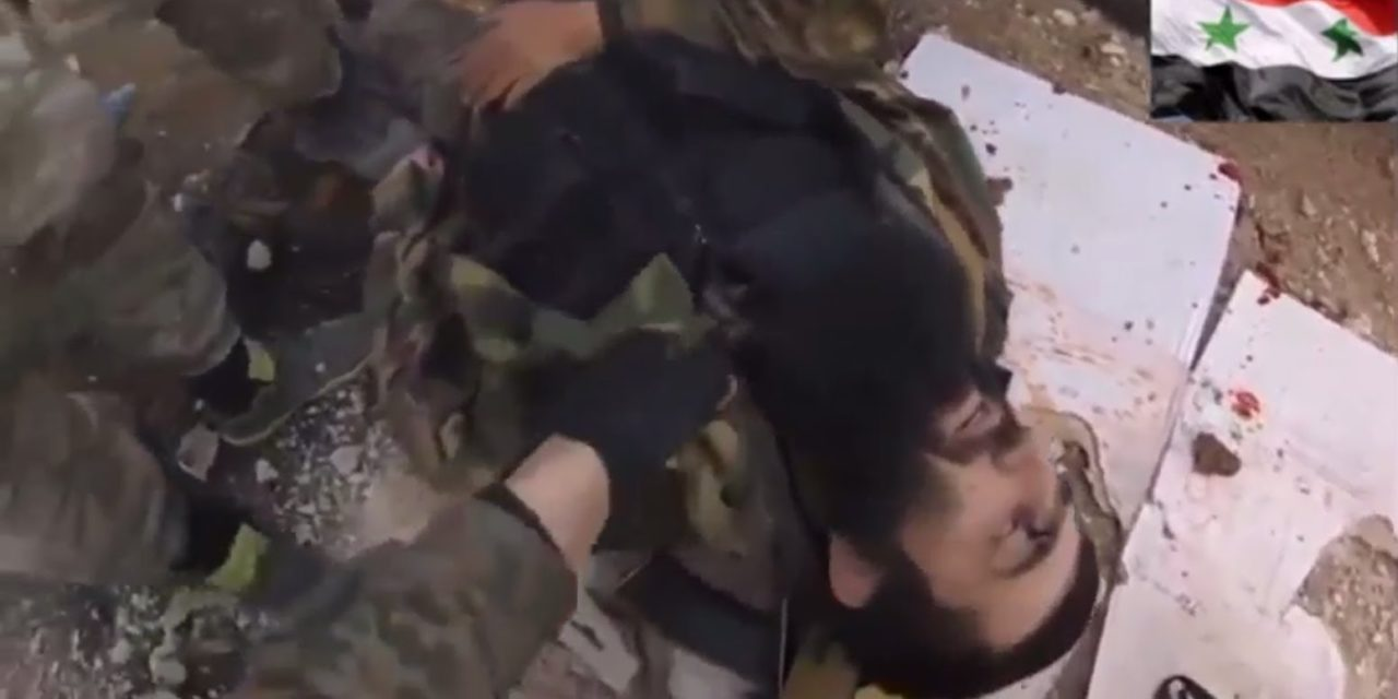 Syria Video: The Death of Chechen Jihadi Sayfullakh in Attack On Aleppo Central Prison