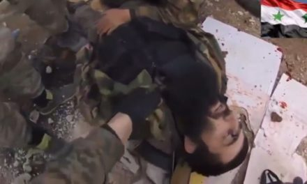Syria Video: The Death of Chechen Jihadi Sayfullakh in Attack On Aleppo Central Prison