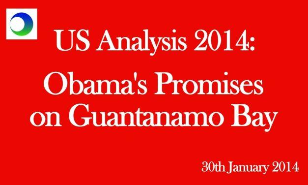 US: Obama's (Broken) Guantanamo Promises