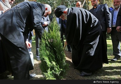 Iran: Caption Competition — Supreme Leader's Tree & Sleeping/Dead Men in the Assembly of Experts