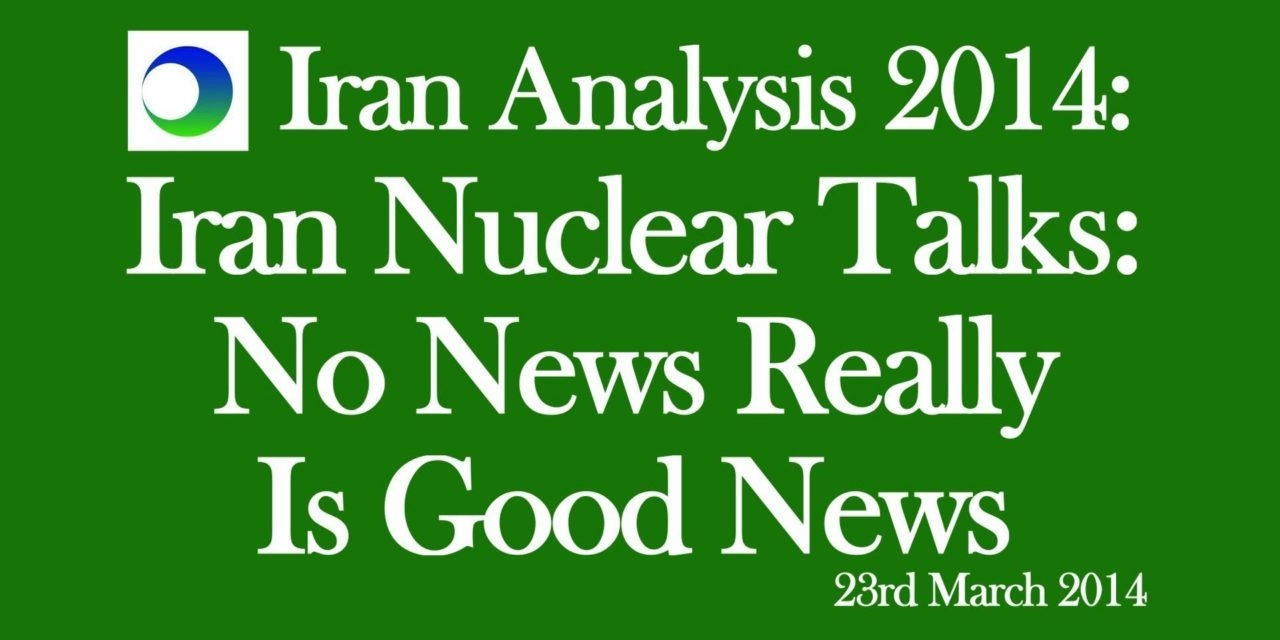 Iran Video Analysis: Nuclear Talks — No News Really is Good News