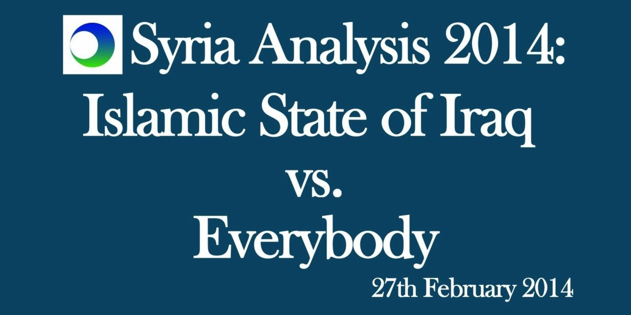 Syria: Islamic State of Iraq vs. Everybody