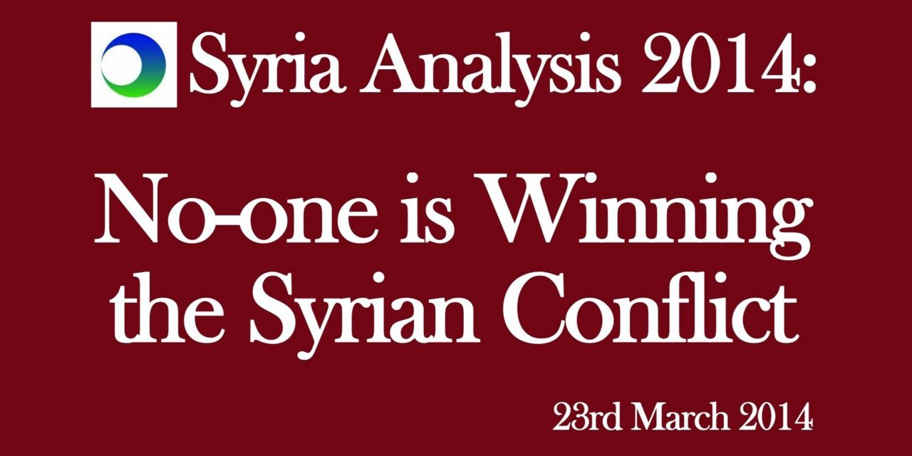"Syria Video Analysis: No One is ""Winning"" The War"