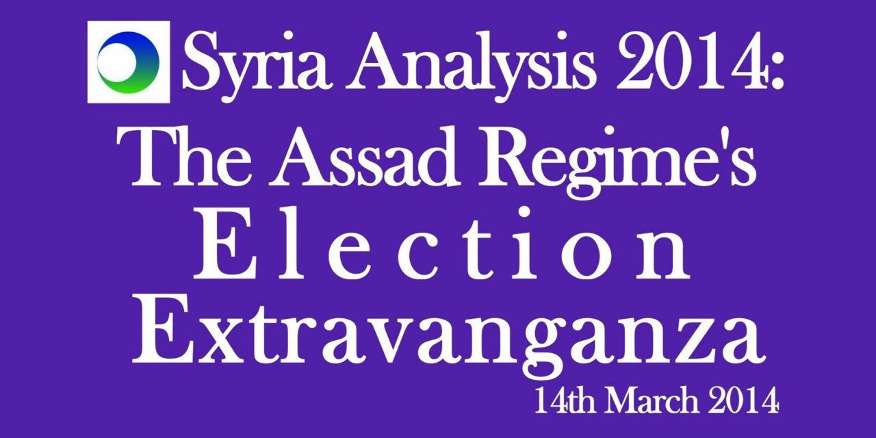 Syria Video Analysis: The Assad Regime's Election Extravaganza