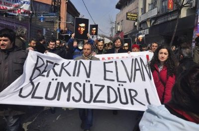 Turkey Feature: 10,000s Protest in Funeral of Belkin Elvan