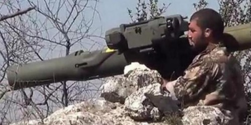 Syria: High-Profile PR Boost for Insurgent Group Receiving US-Made Anti-Tank Missiles