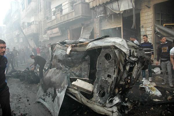 HOMS CAR BOMB 3