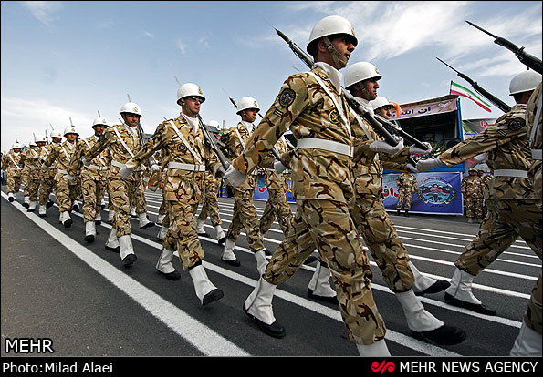 IRAN ARMY PARADE 2