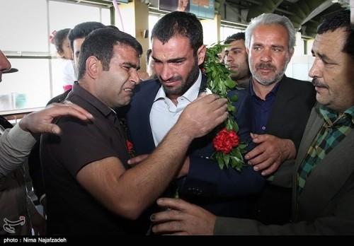IRAN BORDER GUARD RETURNS
