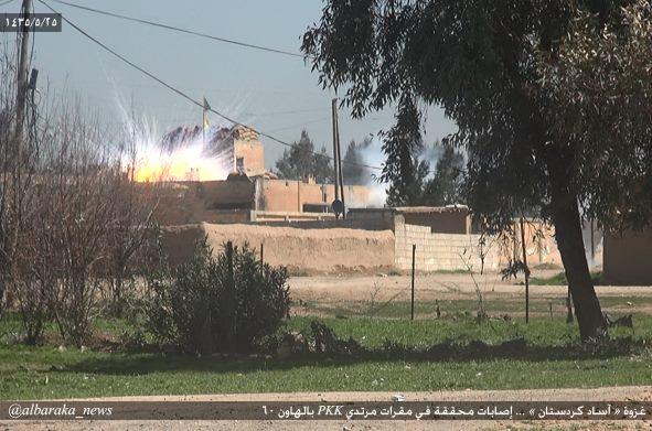 ISIS HASAKEH BOMB