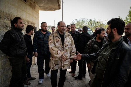 Syria Daily, April 2: Opposition Head Jarba Visits Insurgent Frontline in Latakia