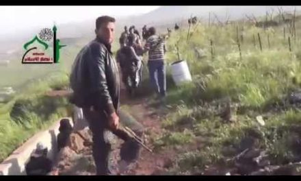 Syria 1st-Hand: The Insurgent Advance in Quneitra in Southwest
