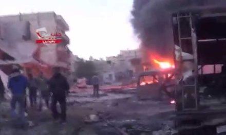 Syria Daily, April 21: Regime Barrel-Bombs Aleppo