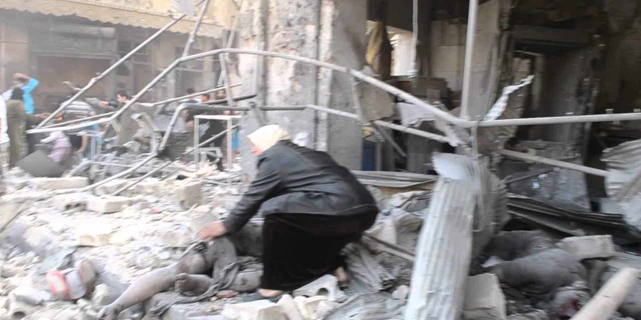 Syria: Dozens of Casualties in Regime Airstrike on Al-Atarib near Aleppo