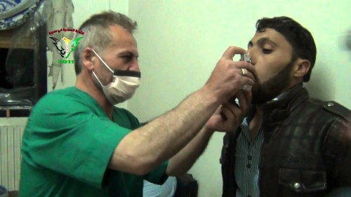 "Syria: Iran Propaganda ""Insurgents Used Chemical Weapons Near Homs"""