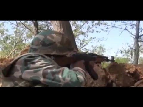 Syria Video: The Regime's Offensive Against Mleha Near Damascus